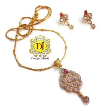 AD Pendent set with free chain