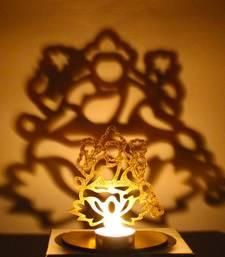 Buy Shadow diya tealight candle holder of removable goddess lakshmi diya online