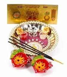 Buy Attractive diwali thali diwali-gift online