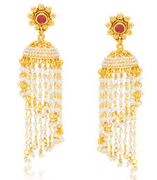 Buy gold plated jhumkas jhumka online