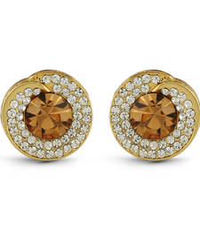 Brown Studded Jewellery Studs