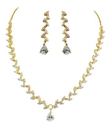 A.D Necklace Set