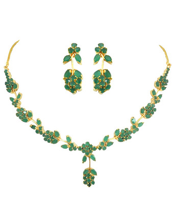 Emerald Fancy Necklace