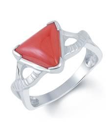 Buy 3.5ct Red Coral gemstone-rings gemstone-ring online