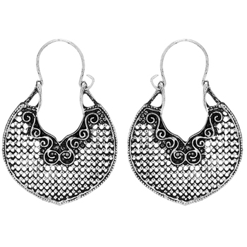Silver Studded Jewellery Hoops