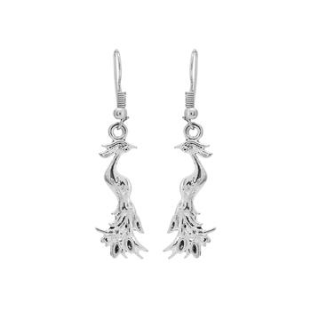 Silver Studded Jewellery Danglers Drops
