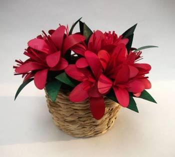 Banana Fiber flower Basket
