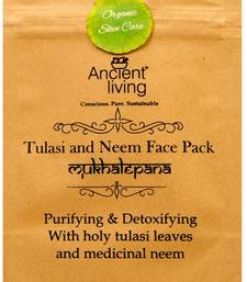 Buy Ancient living tulasi & neem face pack-40g (set of2) personal-cis online