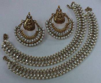 Designer Ram Leela Earings with Anklets