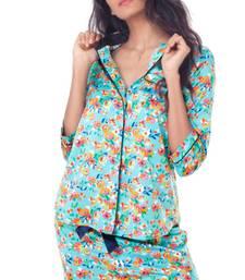 Buy PrettySecrets Satin Pajama Set nightwear online