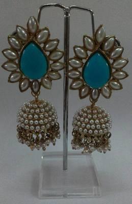 Aashiqui 2 Blue colour Earrings