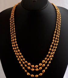 Buy Three strand necklace party-jewellery online
