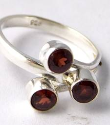 Buy Red Garnet Sterling Silver semi precious other gemstone other-gemstone online