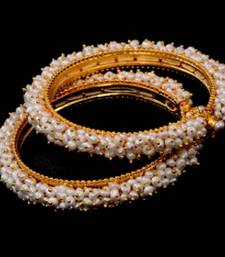 Real Pearls Seed Pearls Bangles From Hyderabad Sridevi