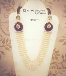 Buy Jhallar - Neckline Necklace online