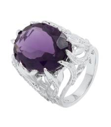 Buy Silver stone rings Ring online