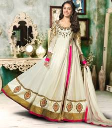 Buy Shraddha Kapoor In Awesome Floor Touch Anarkali anarkali-salwar-kameez online