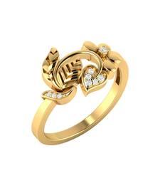 Buy Gold plain rings engagement-ring online