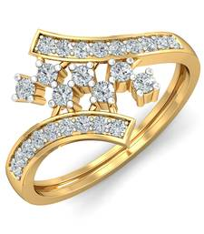 Buy 0.225ct diamond 18kt rings astrology-ring online