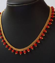 Buy Red crystal necklaces Necklace online