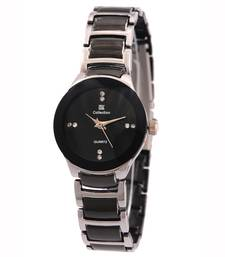 Buy New Exclusive latest Black colour stainless steel Anlong Girl's Wear watch arrival watch online