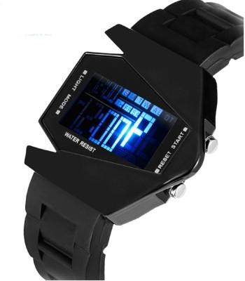 New Exclusive latest Black colour Rubber strap watch arrival