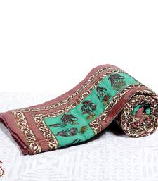 Buy Export quality Hand Block print Jaipuri Ac Quilt gifts-for-mom online