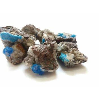 Cavansite raw chunks