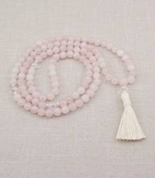 Buy Rose quartz mala other-gemstone online