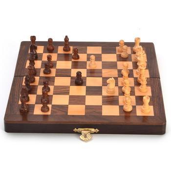 Designer wooden chess board handicraft gift