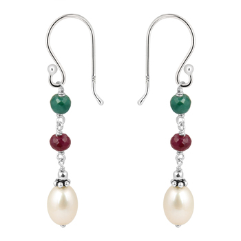 925 Silver &  Earrings By Pearlz Gallery.