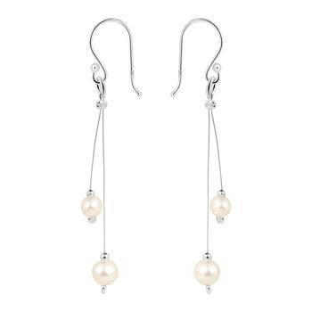 pearlz gallery light weight 925 silver &  earrings.