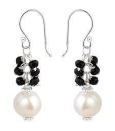 Buy  925 silver  earrings by pearlz gallery. gemstone-earring online