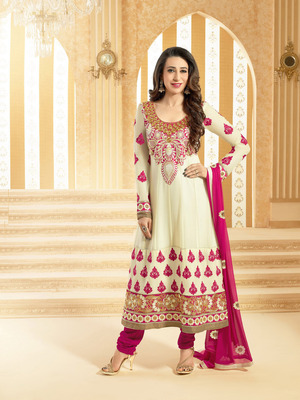 Karishma Kapoor Georgette Semi Stitched Anarkali Salwar Suit