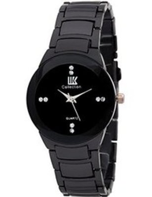 hot Black colour stailess steel Anlong Quartrz watch