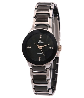Black colour satiless steel Anlong wrist watch