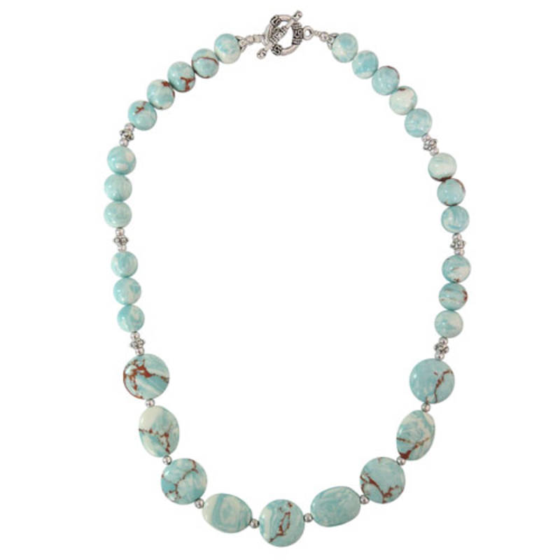 Kanjivaram Beads: Mosaic Beads Designer Necklace