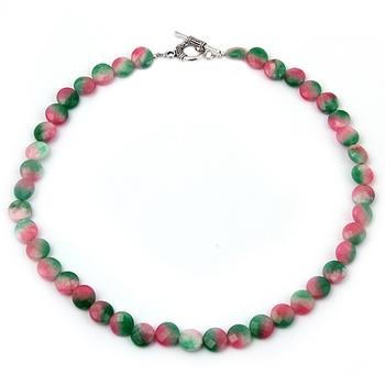 Napier Dyed Quartzite Gemstone Beads Necklace