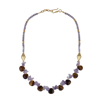 Exhilaration Gemstone Beads Necklace For Women