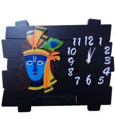 Buy Enterprises krishna rectangular analog wall clock wall-clock online