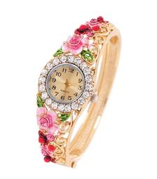 Buy Multicolor cubic zirconia watches karva-chauth-gift online