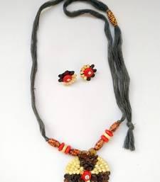 Multicolor plain necklace sets necklace-set