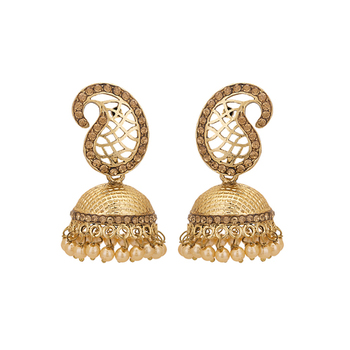 gold plated stunning hand crafted Earring