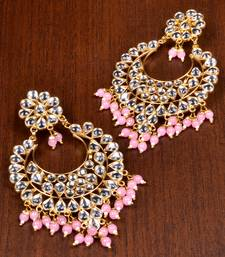 Buy Kundan Embellished Dangler Earrings 217EDS9 danglers-drop online