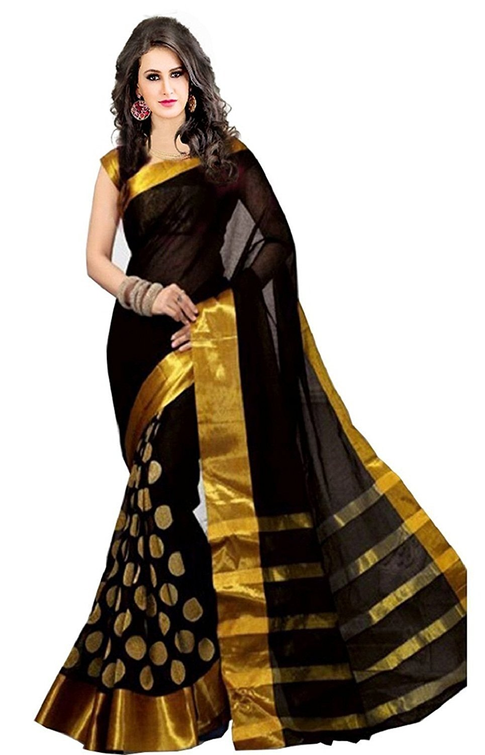 511ac5b7e8 Black Sarees - Buy Black Color Saree online @ Best Prices