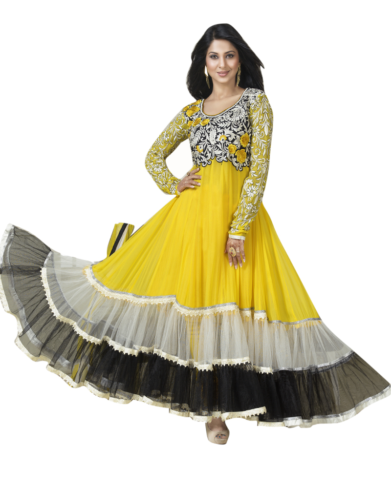 7f8857e546 Designer Anarkali Dresses Online Shopping India | Saddha