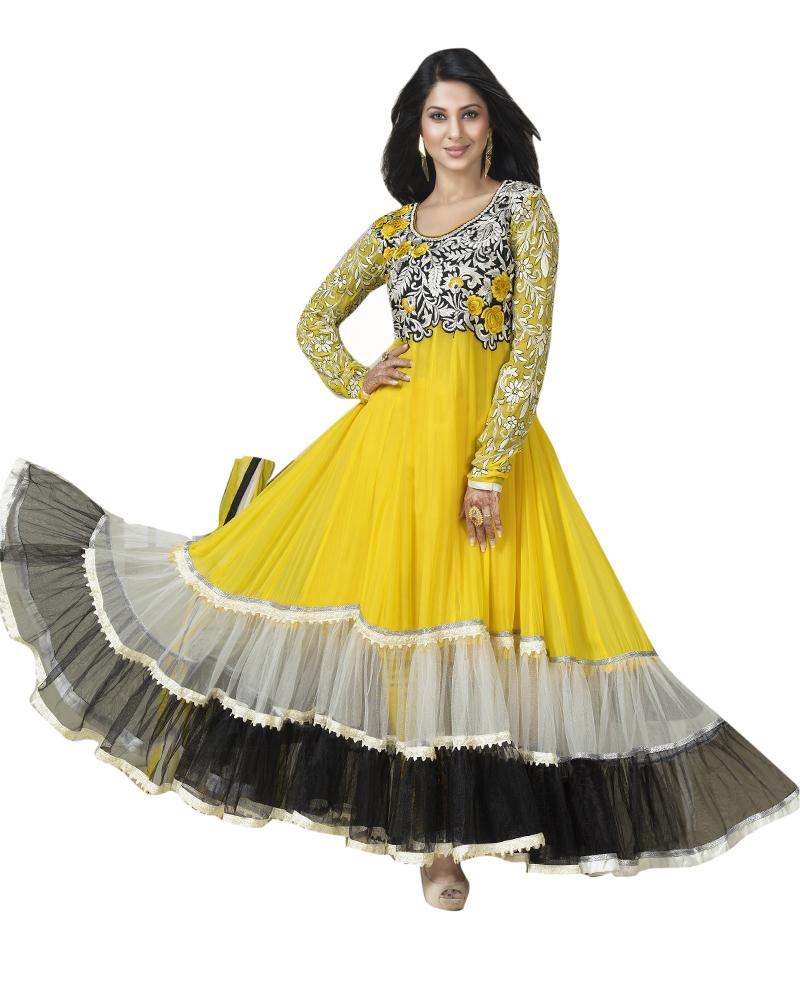 ab62aa0772 Designer Anarkali Dresses Online Shopping India | Saddha