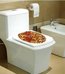 Buy Underwater world Starfish Toilet ' Wall Sticker (33 cm X 39 cm) wall-decal online