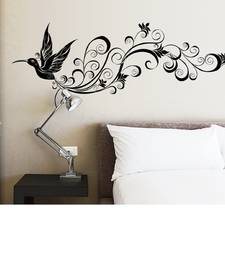 Buy Flying Black Butterfly' Wall Sticker (60 cm X 90 cm) wall-decal online