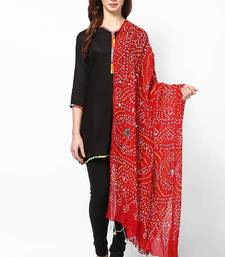 Buy Beautiful Red Cotton Dupatta stole-and-dupatta online